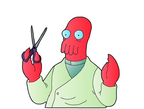 Dr Zoidberg being redundant